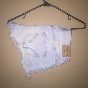 Short jean shorts from Hollister